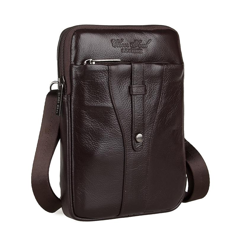 2015 heißer Verkauf echtes Leder Taschen für Männer Messenger Casual Tasche für...