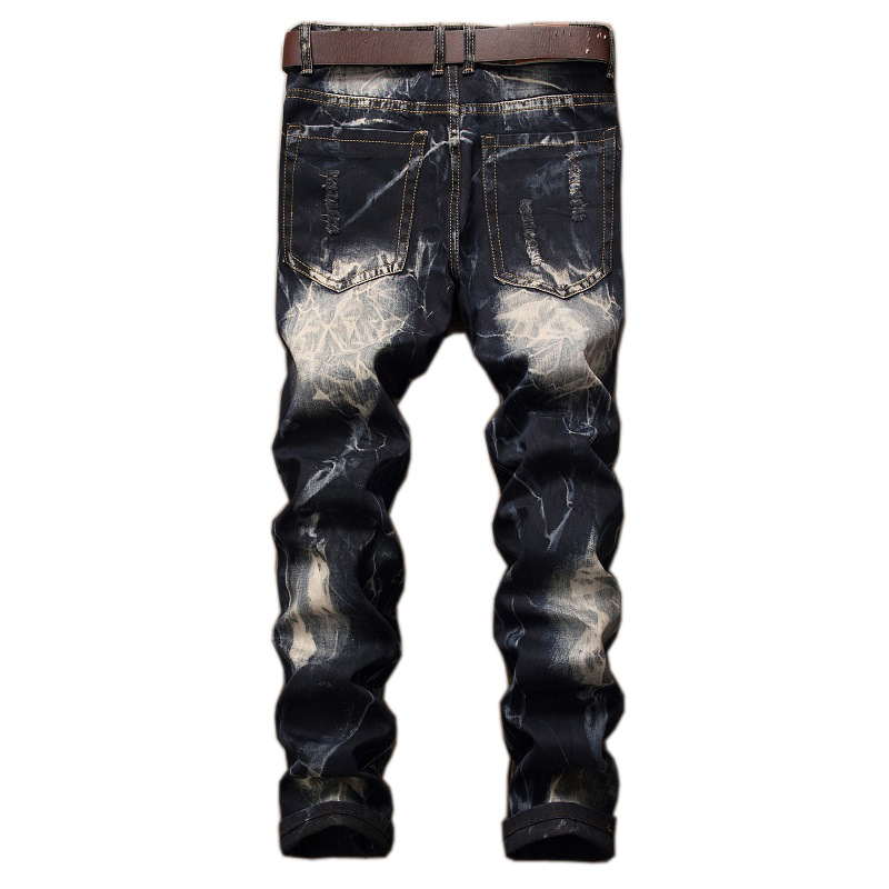 Jeans Ripped Distressed Hole