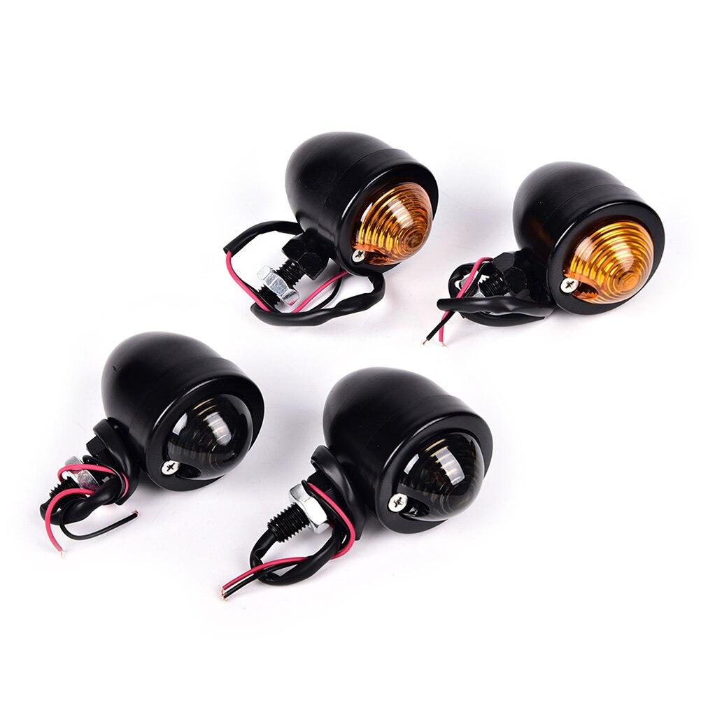 2pcs 12V Lndicators Blinker Flashers Motorcycle Amber LED Turn Signal Light