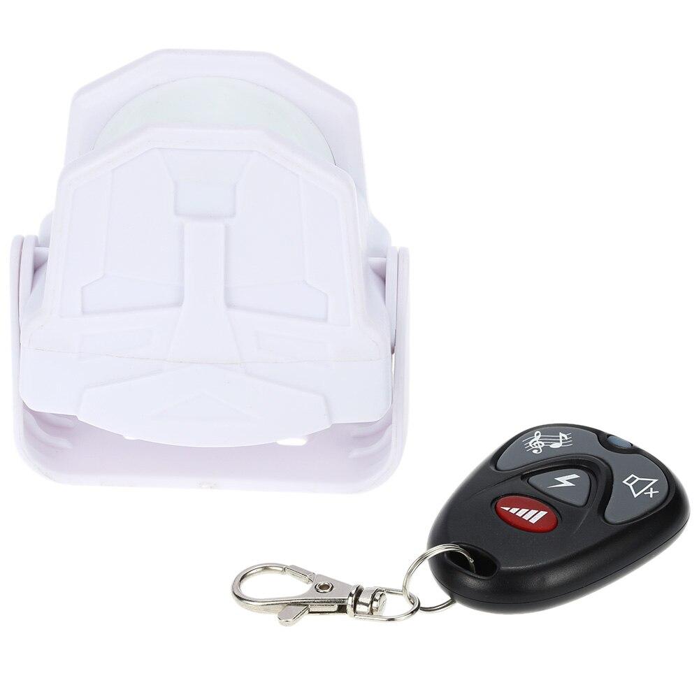 bilder für Drahtlose Infrarot-sensor MP3 Willkommen Guest Türklingel Sensor Alarm Bewegungsmelder Automatische Körper Sensing Alarm Fernbedienung