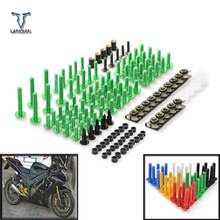 2018 Universal Motorcycle Accessories Fairing Bolt Screw Fastener Fixation For YAMAHA YZF R1 R6 R3 R25 Tmax 500 530 MT07 MT09