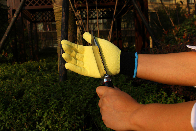 Pruning Tools Urijk Cut Resistant Short-Sleeve Gloves Kevlar Strengthens High Temperature Gloves Protective Safety