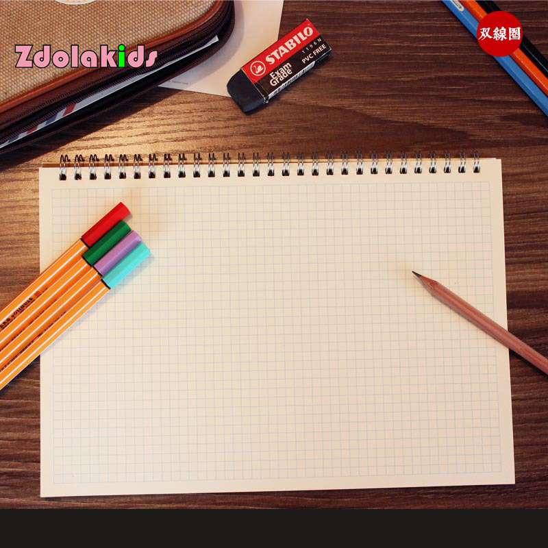 Aliexpress   Buy 16K UI Font    Design    Book Dot    Grid    Coil    Notebook    Spiral Notepad    Draft    Sketch