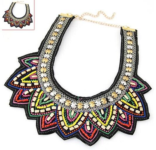64d92ab792eb Φ ΦSpx5144 collares-encantos nueva moda Bohemia BOG Collares joyería ...