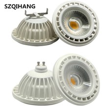 Free shipping  AR111 15W LED COB downlight, Dimmable G53 lamp G10 Spotlight 110-240V ar111 led bulb spotlight GU10