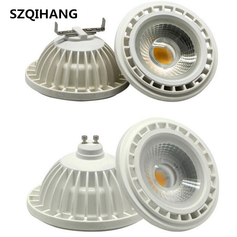 Livraison gratuite AR111 15 W LED COB spot, dimmable G53 lampe 15 W G10 Spotlight 110-240 V 15 W ar111 LED ampoule LED spotlight GU10