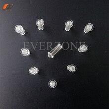 FYEP-37 мини Тип Волоконно-оптические заостренные огни украшения волоконно-оптические концевые фитинги 30 шт. для волокон 0,75 мм/1,0 мм