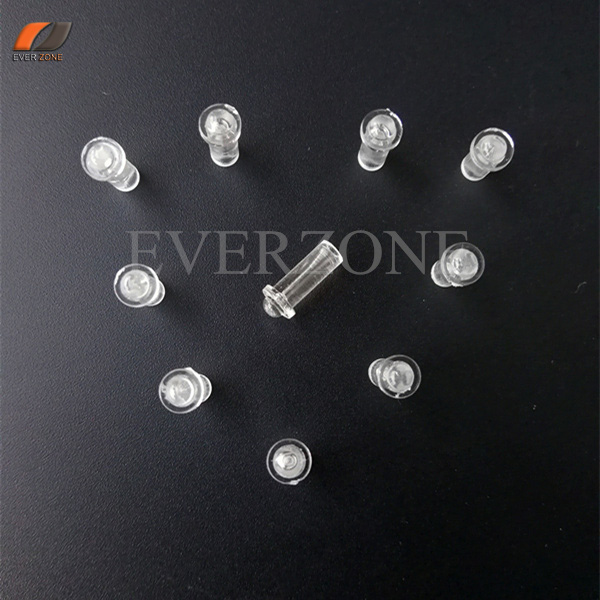 FYEP-37 Mini Type Fiber Optic Pointed Lights Decoration Fiber Optic End Fittings 30pcs For 0.75mm/1.0mm Fibers