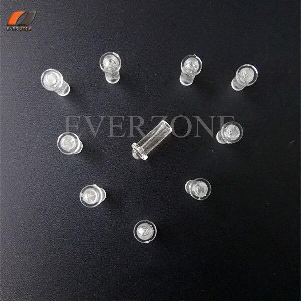 FYEP-37 mini tipo luzes apontadas de fibra óptica decoração acessórios de extremidade de fibra óptica 30 pces para fibras de 0.75mm/1.0mm