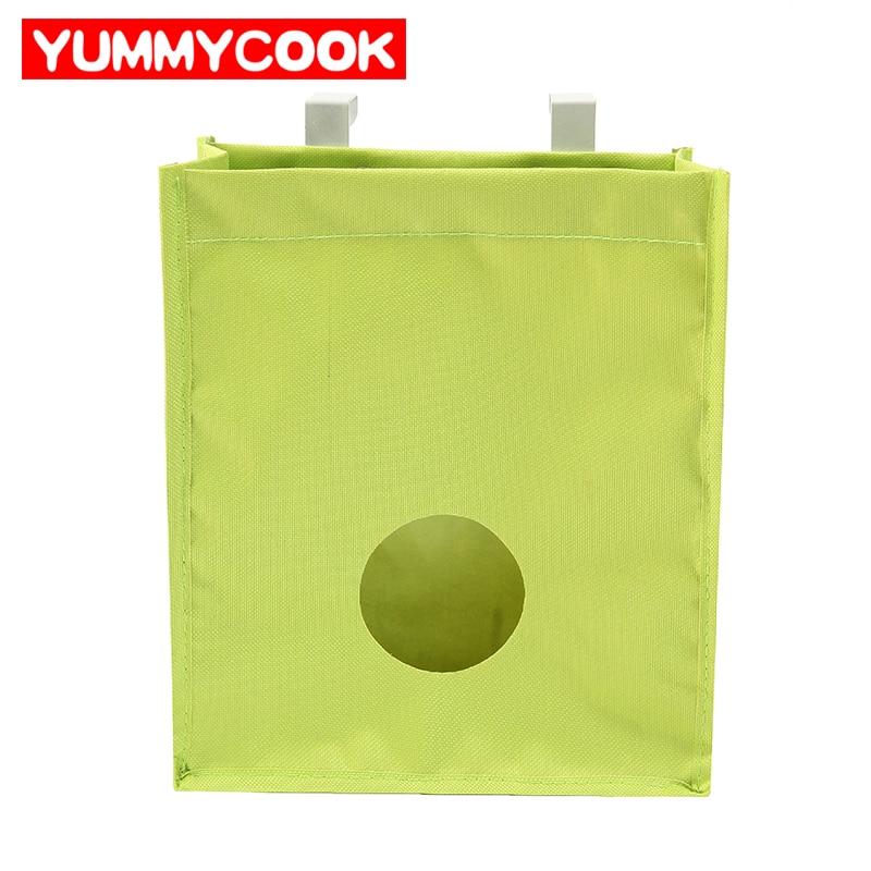 Multifunzione Oxford Hanging Sacchetto Di Immagazzinaggio Per Spazzatura sacchetto Guanti Calzino Cucina Familly Organizzazione Accessori Per La Casa Forniture