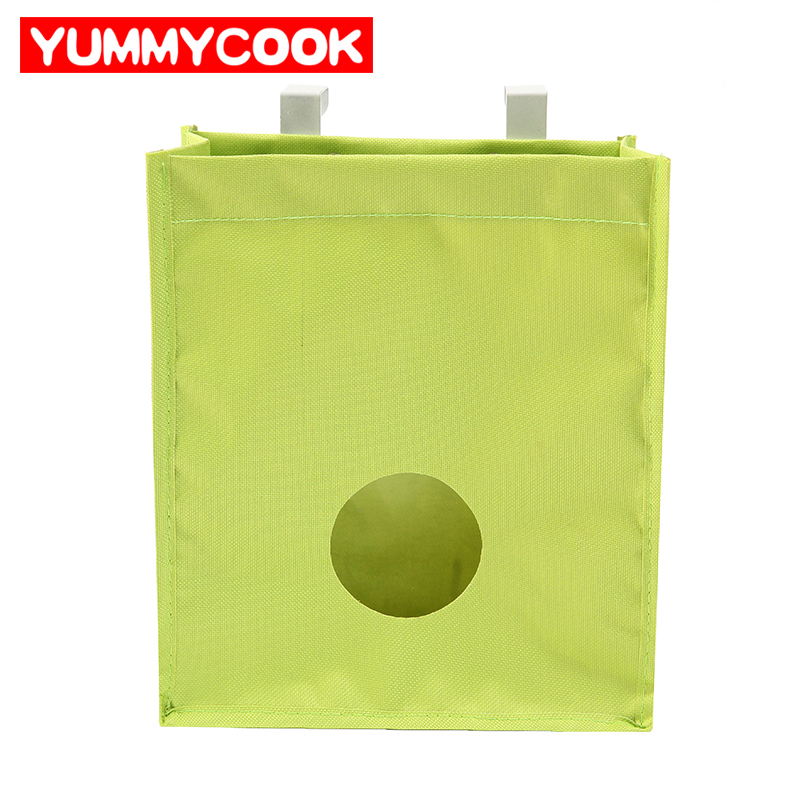 Oxford Multifunction Hanging Storage Bag For Garbage pouch Gloves Sock Kitchen Familly Organization Home Accessories Supplies