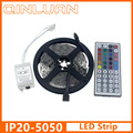 10M 5M RGB LED Strip 5050 3528 set with IR Remote Controller DC12V SMD 60leds/M non waterproof 10M 600 LEDs RGB tape LED Ribbon