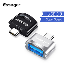 Essager USB Type C OTG Adapter For Samsung A50 Xiaomi Redmi Note 7 8 Pro One Plus 6t USBC Type-c To 3.0 Converter