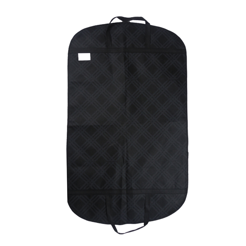 Dual-use Portable Clothes Storage Bag Wedding Men's Suit Dust Cover Thicken Non-woven Craft Travel Business Hanger Bag FL002