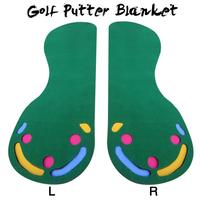 Golf Putter Blanket Indoor Green Putter Trainer Practice Green Exercise Home Entertainment Simulation Blanket
