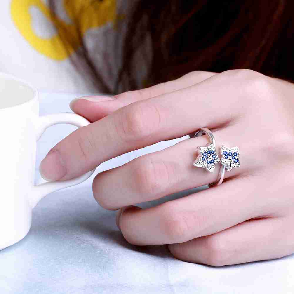 Free Shipping wholesale 925 stamp silver color wedding rings for ...