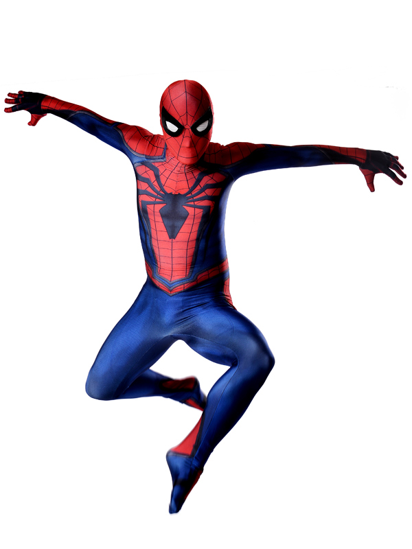 1 Amazing spiderman costume Ultimate Spiderman Costume Cosplay Halloween Superhero Costume Newest Fullbody spiderman Suit (1)
