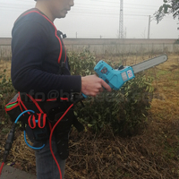 40V single hand 48X 7 inch light electric hand saw more than 10 hours lasting (can order pruner together)