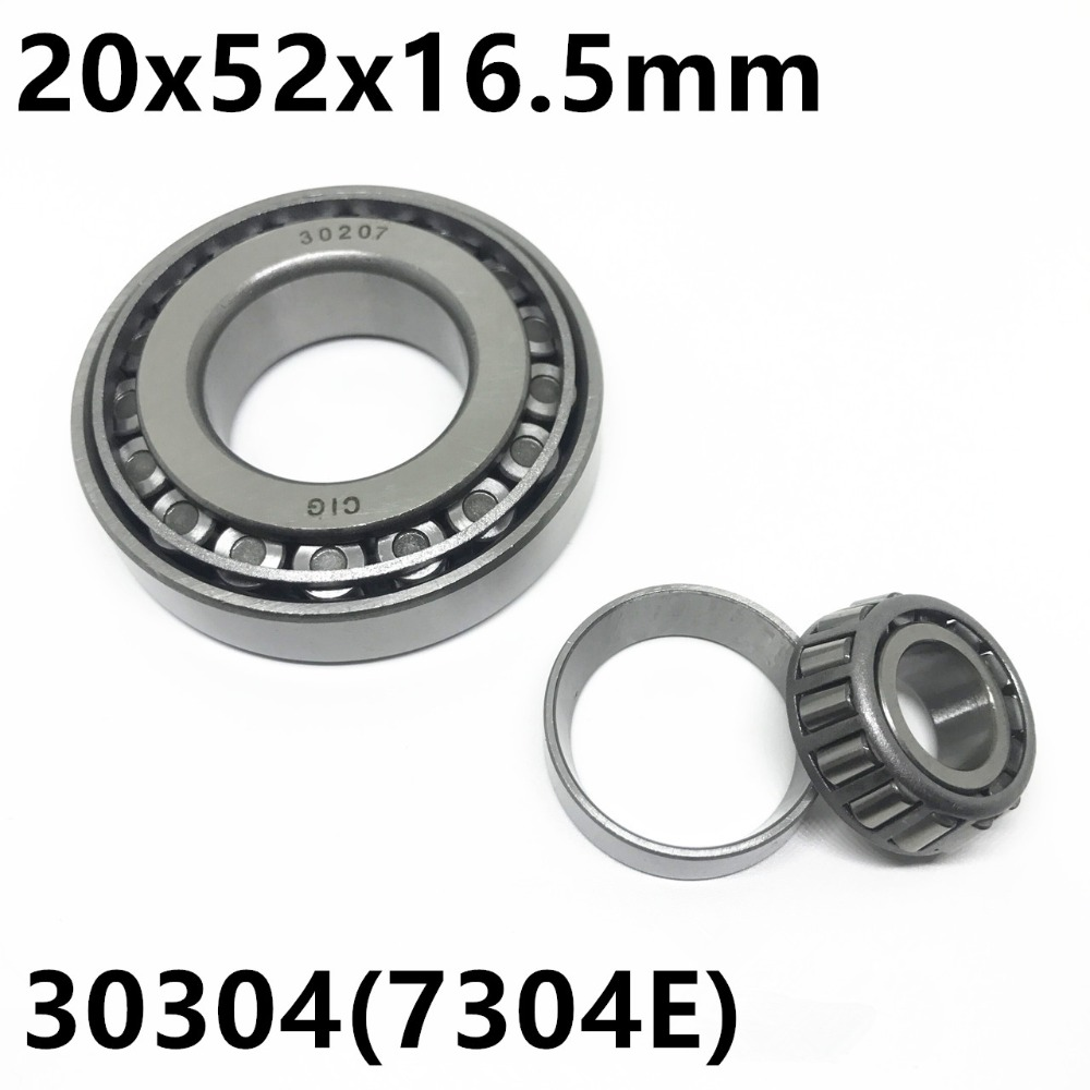 Taper Roller Bearing 30304 7304E 20x52x16.5 Mm High Quality