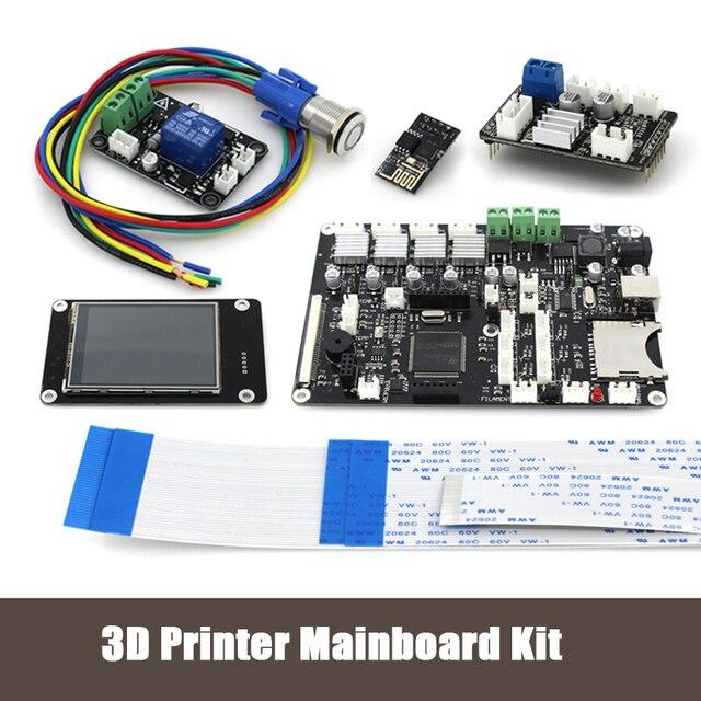 """3D принтер 2.8 """"сенсорный экран комплект Материнской Платы/ESP8266 wifi двойного сопла управления модуль/Мощность продолжение печати Материнская Плата KIT044"""