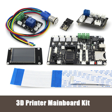3D printer 2 8 touch screen Motherboard kit ESP8266 wifi dual nozzle control module Power continued