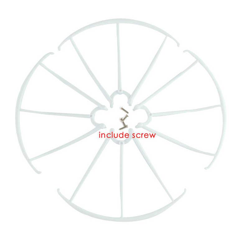 4 قطعة SYMA X5C X5C-1 X5 X5SW الغيار الحرس دائرة حماية إطار حلقة جزء ل أجهزة الاستقبال عن بعد Drone اكسسوارات وقطع غيار (
