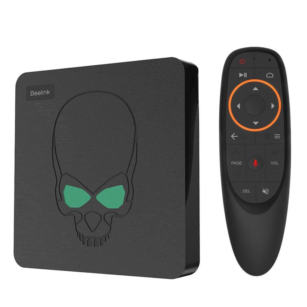 Vorke Beelink gt-king Android 9.0 TV BOX Amlogic S922X GT King 4G DDR4 64G EMMC Smart TV Box 2.4G + 5G double WIFI 1000 M LAN avec 4 K