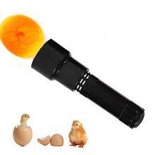 1 шт./лот 9 светодиодный даже при сильном морозе инкубационный Тесты фонарик яйцо Тесты er инкубатор для яиц лампа на солнечных батареях, Батарея(не входит в комплект