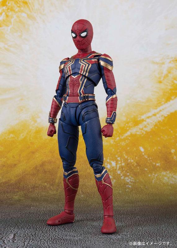 100% Originale BANDAI Tamashii Nazioni S. H. Figuarts (SHF) Action Figure Iron Spider-in Action figure e personaggi giocattolo da Giocattoli e hobby su  Gruppo 2