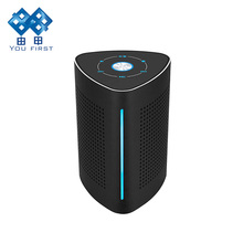 Wi-fi Bluetooth Resonance Speaker Transportable Stereo Matal Subwoofer Wired AUX Speaker With Microphone For Cellular Cellphone Laptop