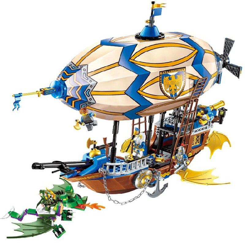 669 個栄光バトルシリーズ互換 Legoingly 市テクニック栄光宇宙船飛行船戦艦大砲 DIY フィギュアレンガギフト  グループ上の おもちゃ & ホビー からの モデル構築キット の中 1