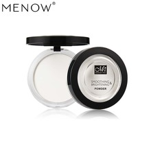 Concealer Highlighter Cosmetic White Powder Face MENOW Brighten-Palette Shimmer Oil-Control