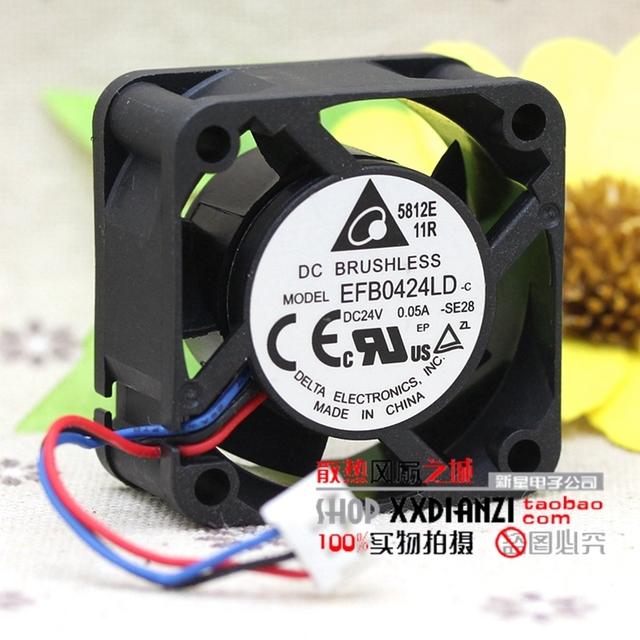 EFB0424LD 4020 0.05A 24 V ultra silencioso 4 cm fã inversor