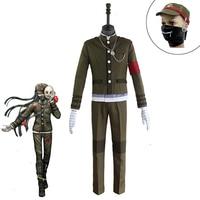 Japanese Game Danganronpa V3: Killing Harmony Korekiyo Shinguji Cosplay Costume Unisex Halloween Carnival Uniforms Custom Made
