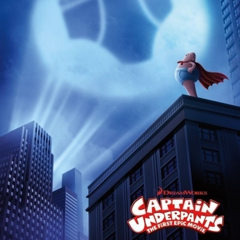 Captain Underpants – One Sheet Laminated Poster Print (22 x 34)