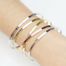 Engraved Bracelet For Women Child Name Bracelet Custom Name Bangles Gold/ Silver Stainless Steel Mujer Name Bangles jewelry gift engraved bracelet for women child name bracelet custom name bangles gold silver stainless steel mujer name bangles jewelry gift