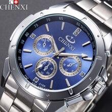 2016 CHENXI Reloj de Los Hombres de Primeras Marcas de Lujo Relojes de Pulsera Hombres Reloj de Cuarzo de Acero de Los Hombres Reloj Masculino Reloj de Cuarzo Relogio masculino