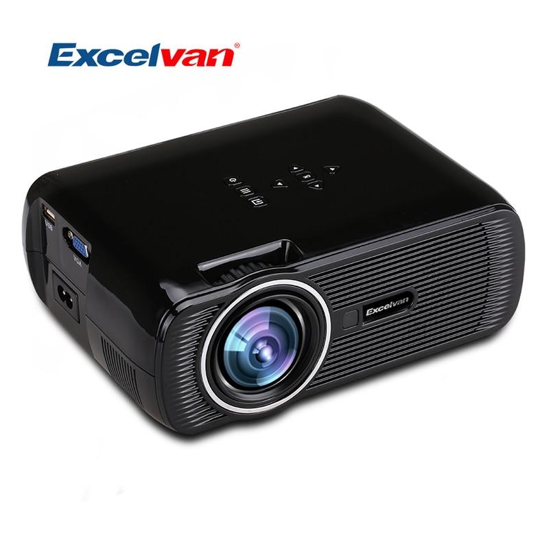 Mini Portable Lcd Multimedia Led Projector Full Hd 1080p: Aliexpress.com : Buy Excelvan EHD01 Mini Portable