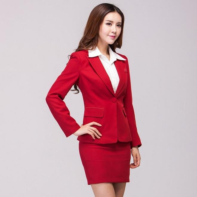Aliexpress.com : Buy New Elegant Red Plus Size 2015 Fashion Autumn ...