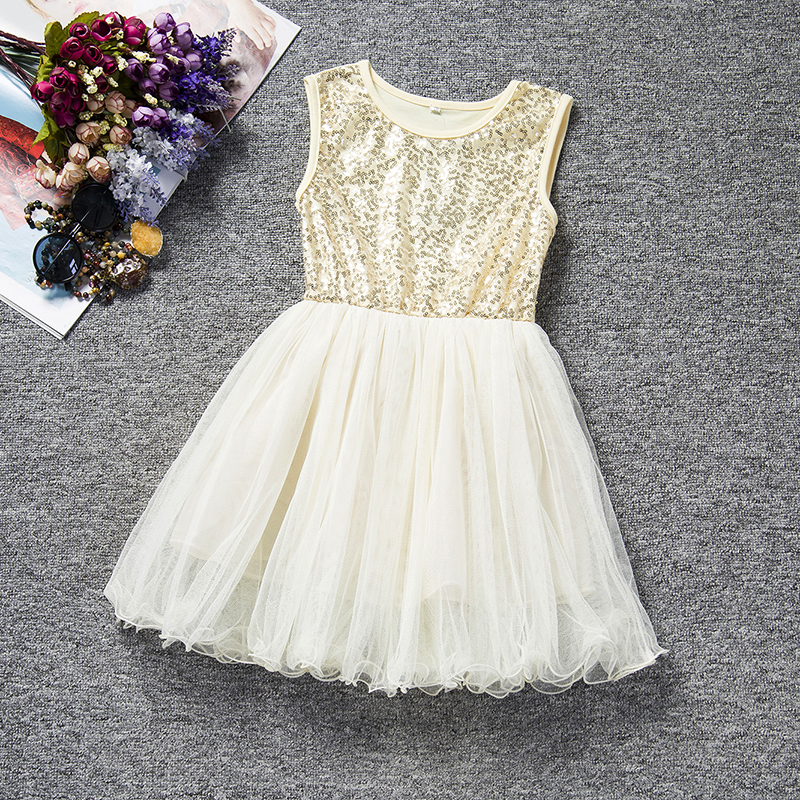 Baby Girl Dress Kids Clothes Summer 2018 Tutu Princess Birthday Dresses For Girls 3 8T Baptism Casual Daily Vesitido Hot Sale