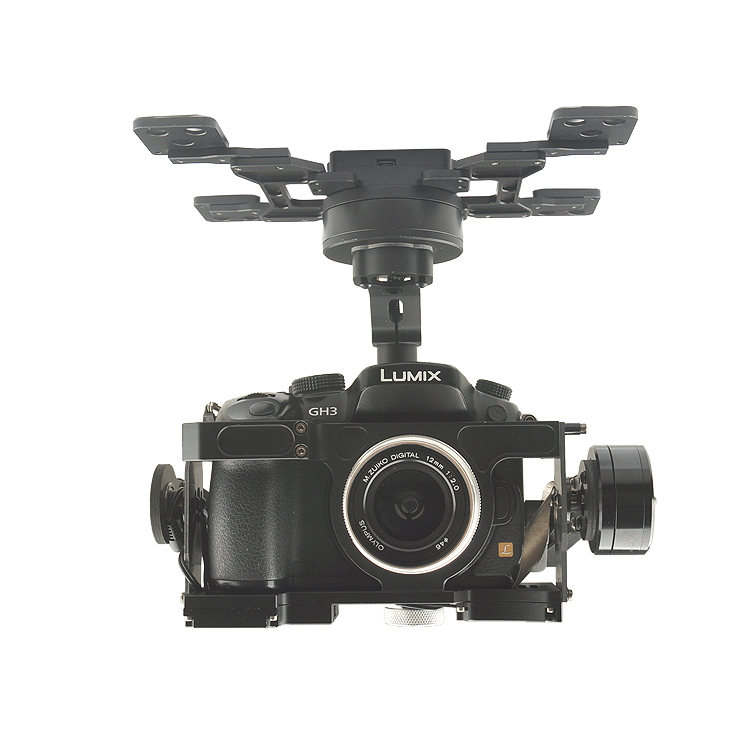 HG3D+  brushless Gimbal three-axis with GH3 GH4 GH5 edition Integrated HDMI to AV Remote shutter смазка hi gear hg 5509