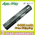Apexway batería del ordenador portátil para hp para compaq 4730 s 4740 s 633734-141 633734-151 633734-421 hstnn-i98c-7 hstnn-ib2s pr08 qk647aa
