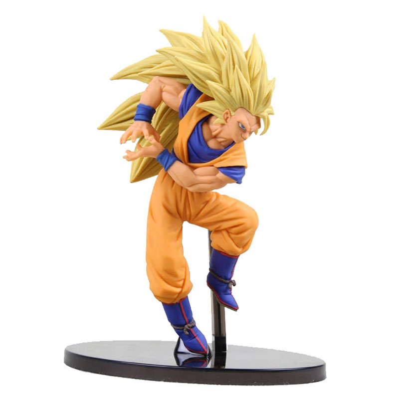 Figurine originale banpresto Dragon Ball Z super saiyan 3 fils goku Figurine PVC Figurine à collectionner modèle jouet