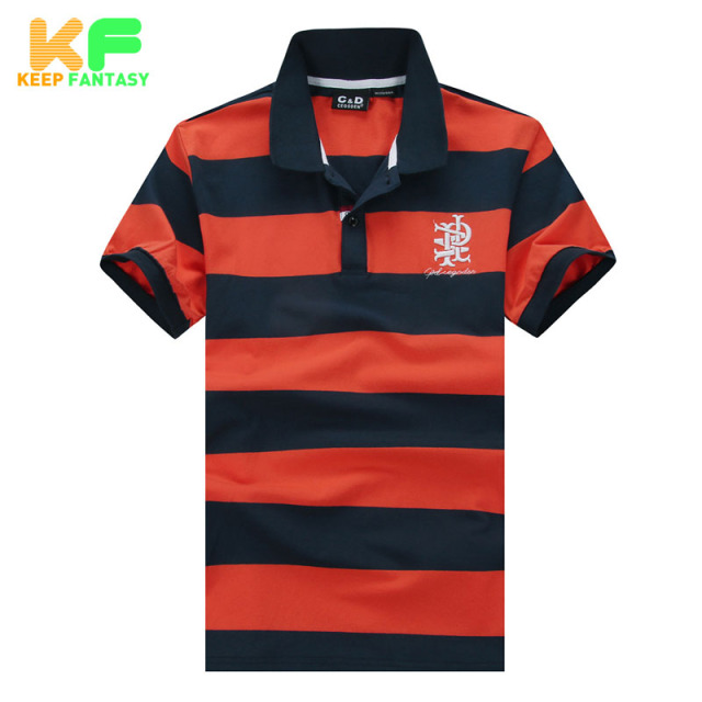 Striped Men Polo Shirt Fashion Brand-Clothing Quality Turn-Down Collar Short Sleeve Cotton Polo Homme Camisas Masculina MPTS1512