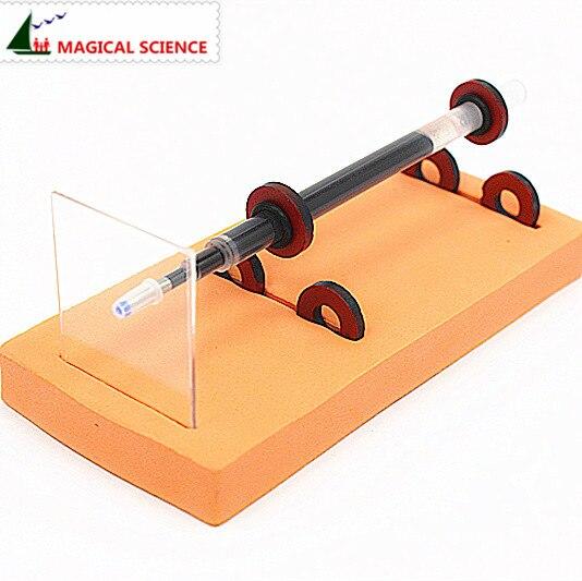 a0135add034a2 الجملة التجربة الفيزيائية محلية الصنع المغنطيسى القلم DIY المواد ، الصفحة  الرئيسية تعليمية كيت للأطفال الطلاب