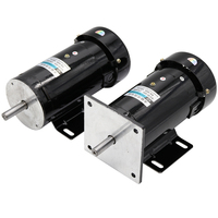 220V permanent magnet DC motor 1800 turn speed high speed motor 500W high power big torque motor