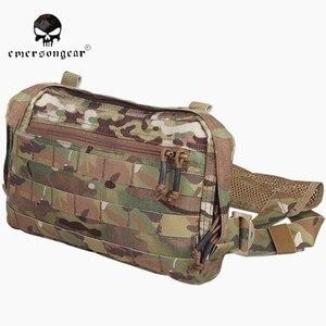 Image 1 - EMERSONGEAR EDC сумка, нагрудная сумка Recon Мультикам EM9285, охотничьи сумки