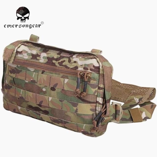 EMERSONGEAR EDC сумка, нагрудная сумка Recon Мультикам EM9285, охотничьи сумки