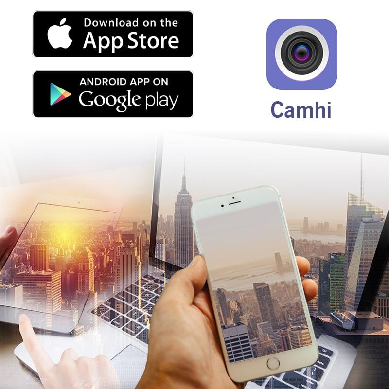 Hd 720p 1080p cartão wi fi câmera ip sem fio ao ar livre cctv rede p2p onvif 4 visão noturna ir onvif h.264