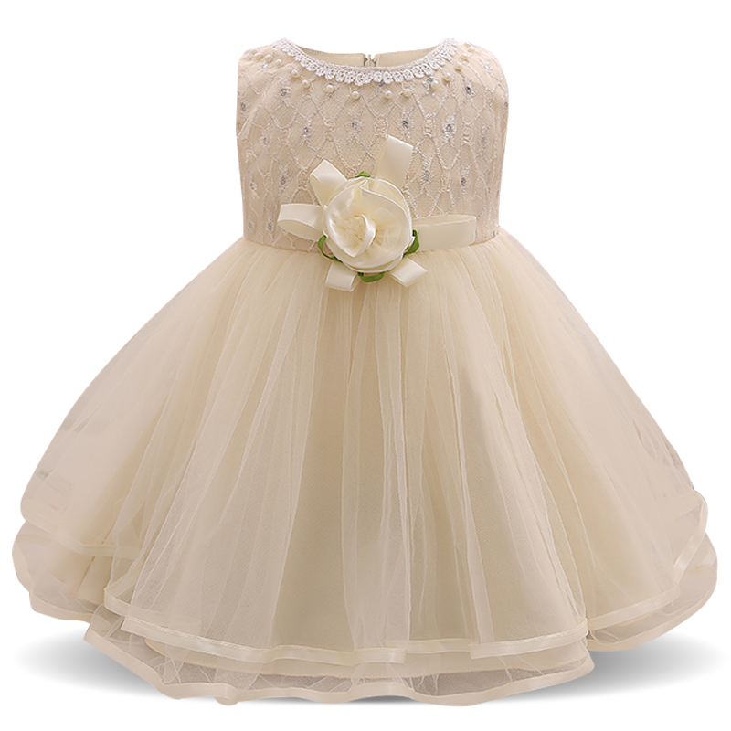 Blume Baby Hochzeit Kleid Nette 1 Jahr Geburtstag Baby Mädchen ...